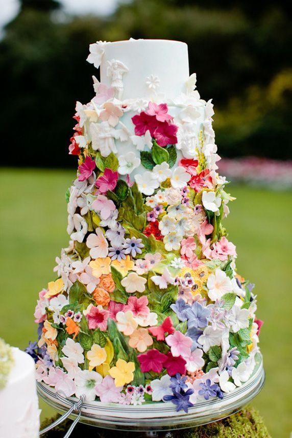 10 wedding cake printanier