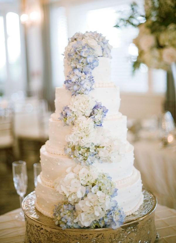 9 wedding cake ortensia