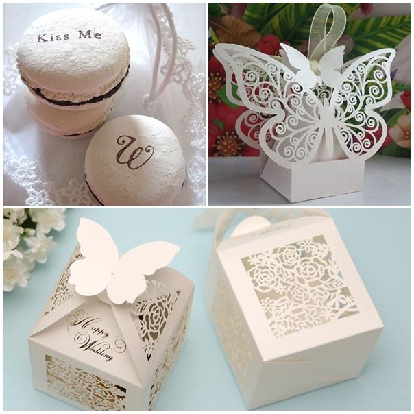 cadeaux pour les invites mariage blanc