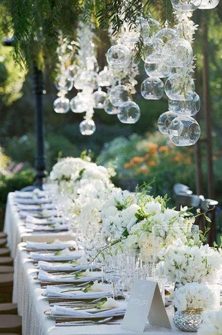 Decoration Salle De Mariage Blanc Et Dore : Décoration de mariage blanc et doré idées d