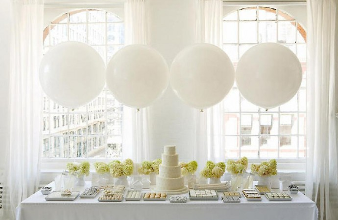 table candy bar mariage blanc