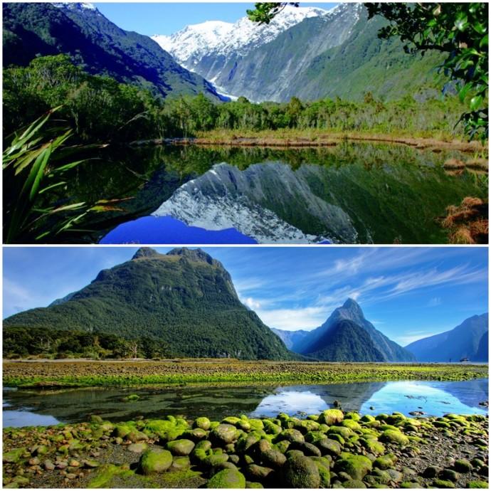 nouvelle-zélande-lune de miel-mariage-lac