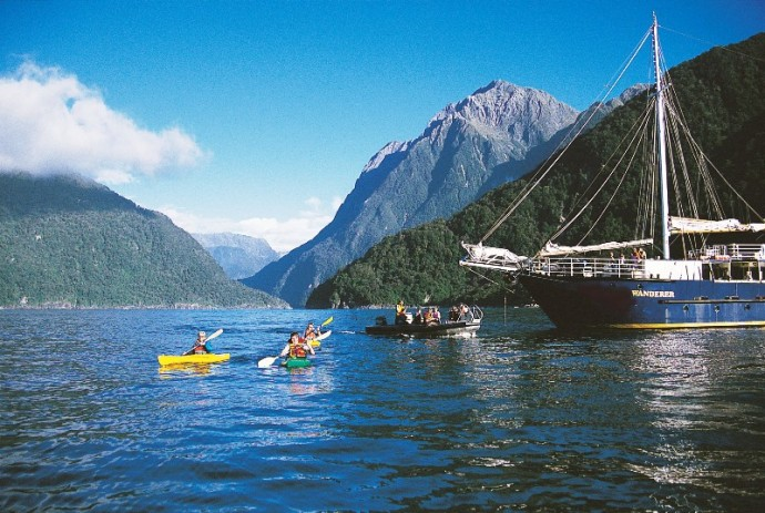 Kayak Fiord