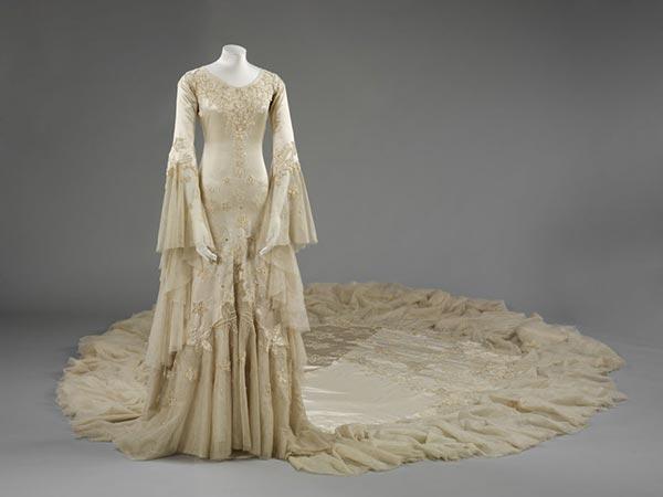 1933 : La robe de Norman Hartnell pour la Duchesse Margaret