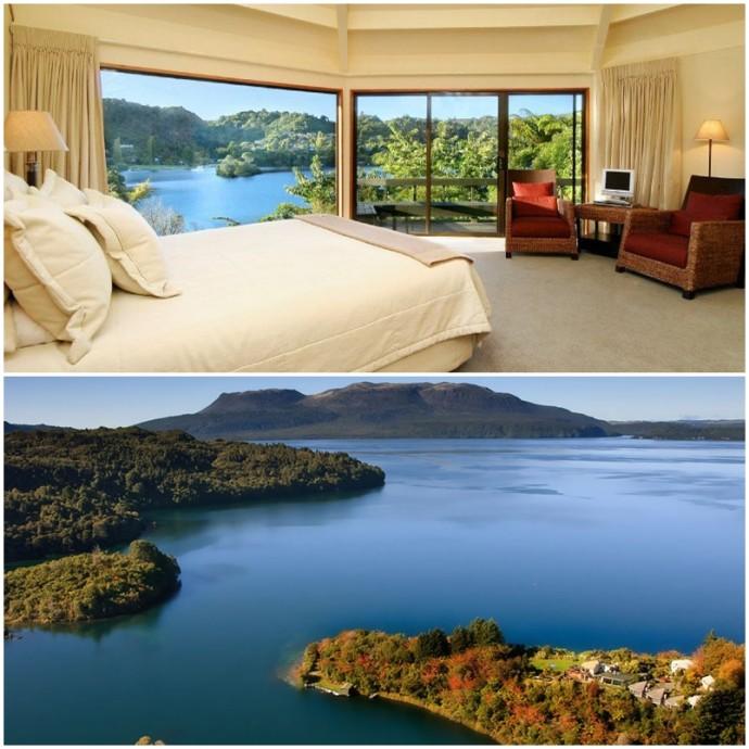 Solitaire Lodge Voyage de noces Nouvelle Zelande