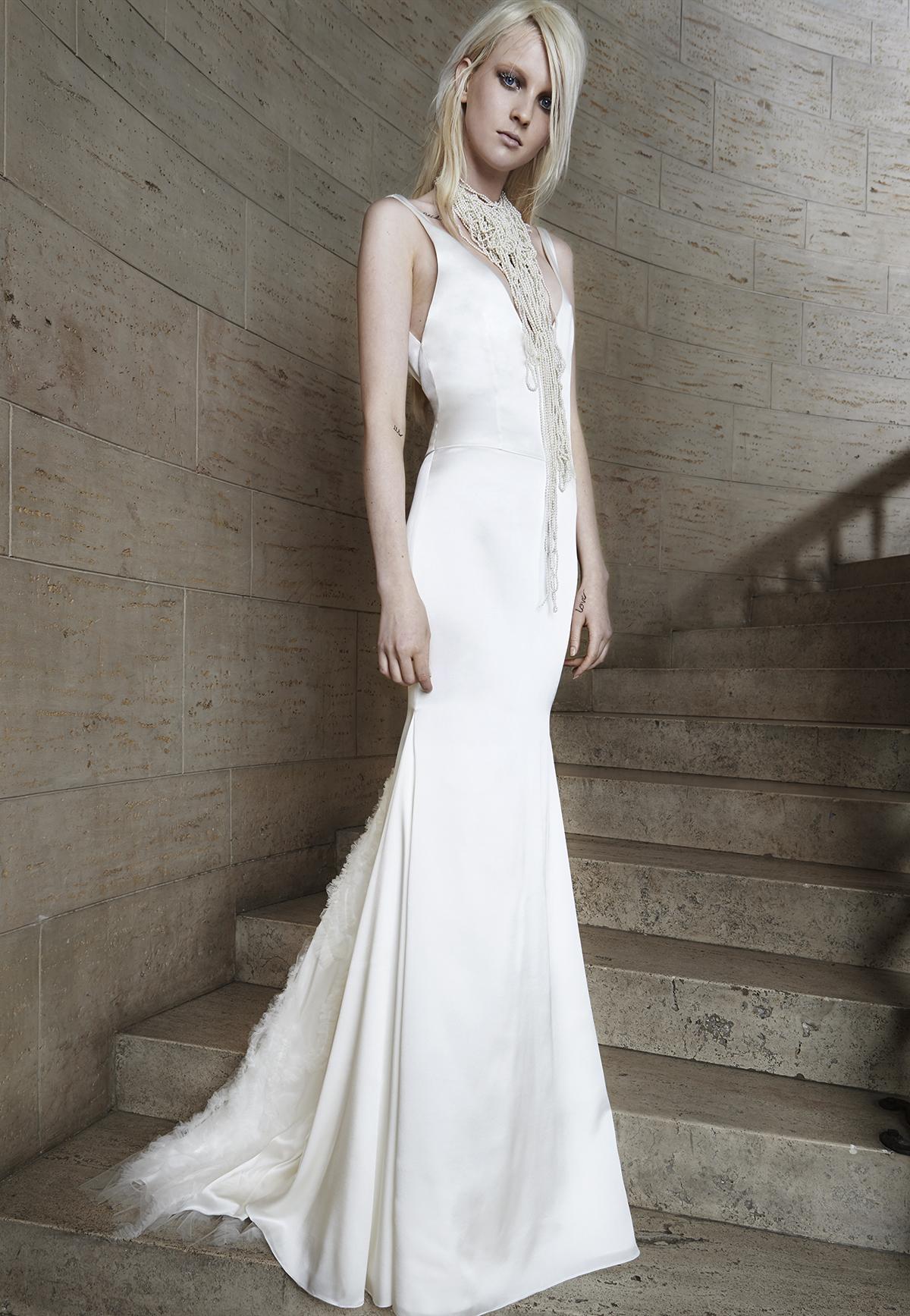 Vera wang collection printemps 2015 for Collection de robe de mariage vera wang