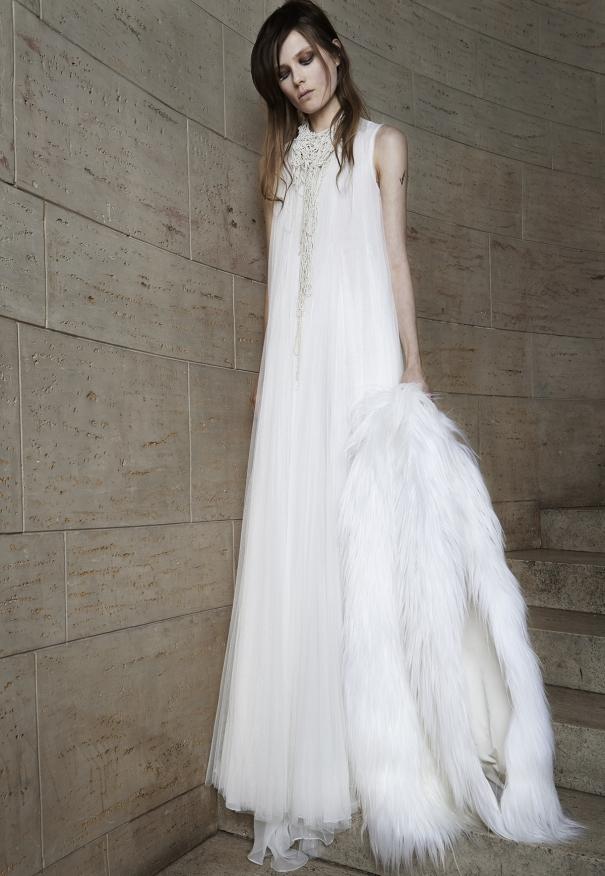 Vera wang collection printemps 2015 for Meilleures robes de mariage vera wang