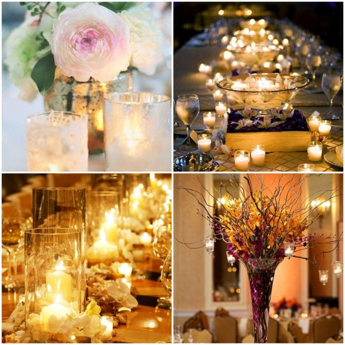 Decoration lumineuse table mariage for Decoration lumineuse