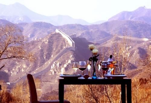 lune de miel sur la muraille de chine