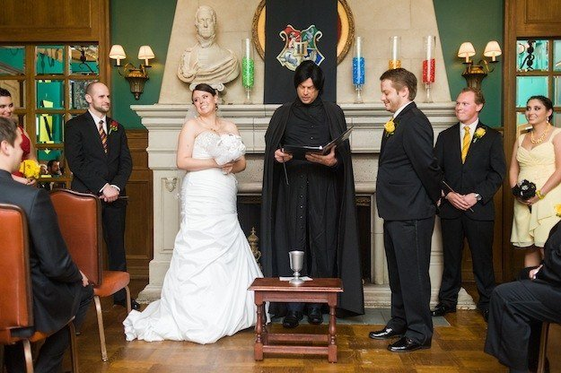 mariage harry potter ceremonie laique