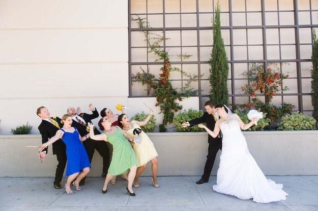 mariage harry potter photo de mariage