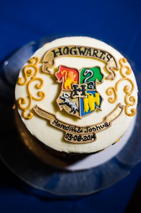 mariage harry potter wedding cake
