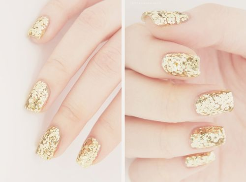 Ongles gold