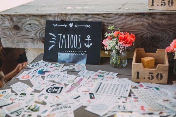 tatouage animation cirque mariage