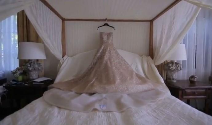 Jessica Simpson robe mariee 2