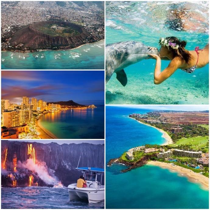 Lieux incontournables hawai