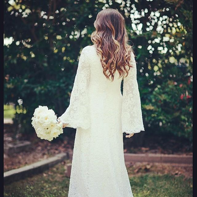 Robe mariee soeurs Olsen 2
