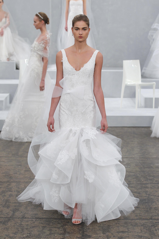 Monique lhuillier collection t 2015 for Monique lhuillier robes de mariage