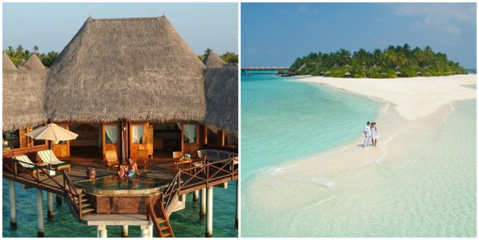 Voyage de noces romantique aux Maldives