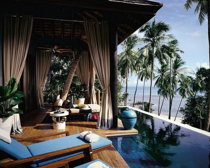 four seasons thailande piscine privee