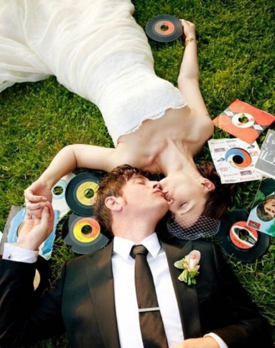 mariage sur le theme des annees 50