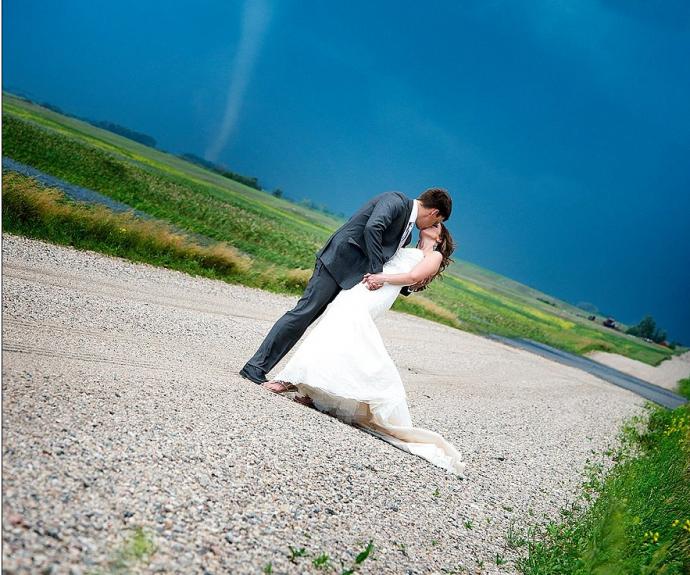 mariage tornade