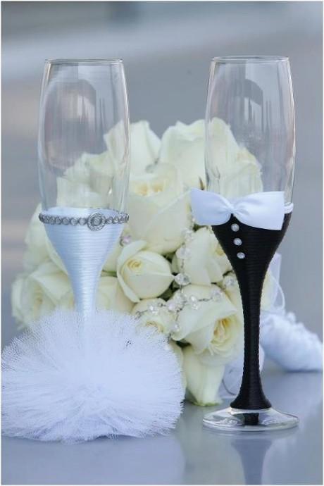 diy des verres personnalis 233 s juste pour les mari 233 s mariage