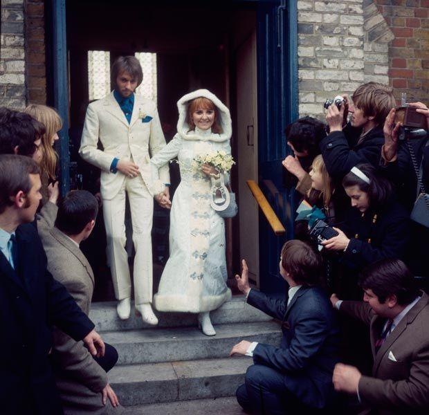 Maurice Gibb et Lulu, chanteurs, 1969