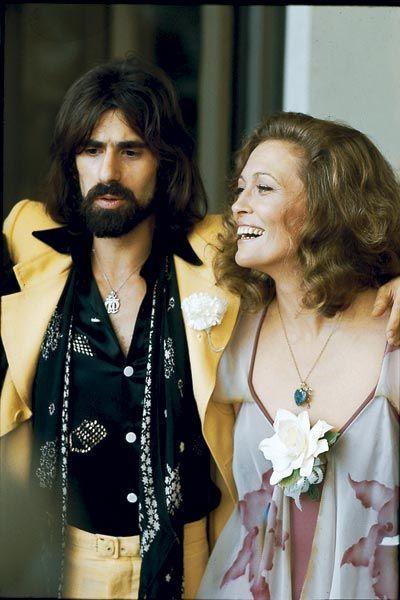 Faye Dunaway, actrice, et Peter Wolf, chanteur, 1974