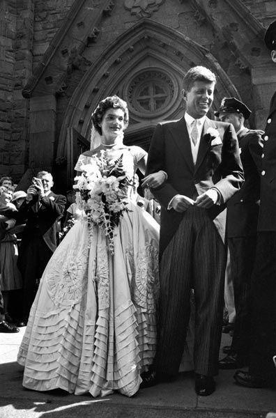 John F. Kennedy, Président des Etats-Unis et Jacqueline Bouvier, 1953
