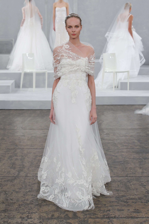 Monique lhuillier collection printemps t 2015 for Monique lhuillier robes de mariage