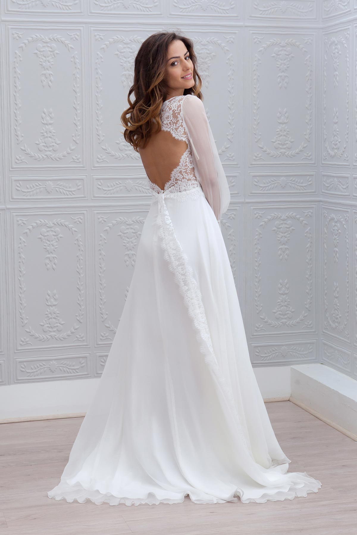 Marie laporte collection 2015 for Robes longues de mariage