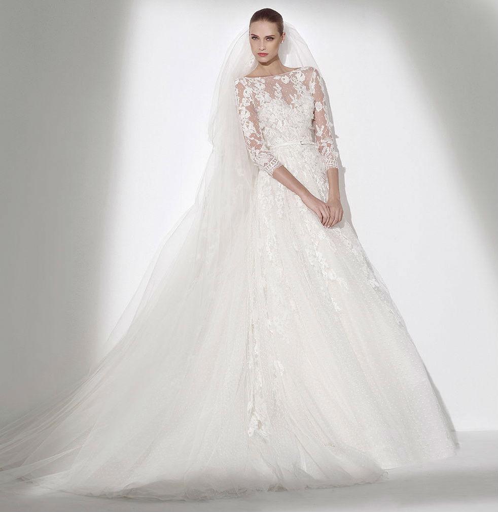 Robe de mariée Elie Saab Haute Couture - Aufeminin.com