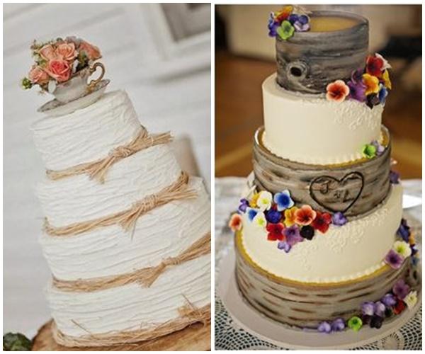 Tortas Para Matrimonio Rustico : Mon mariage ambiance rustique