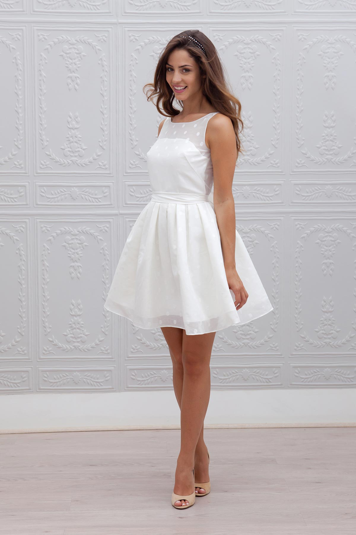 Marie laporte collection 2015 for Robes simples pour mariage