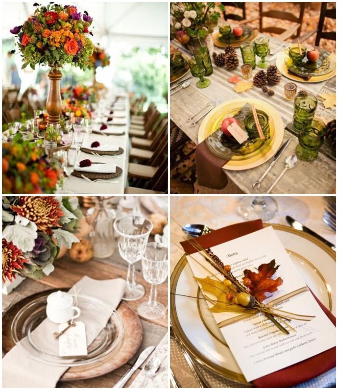 Comment décore-t-on un mariage dautomne ? - Mariage.com
