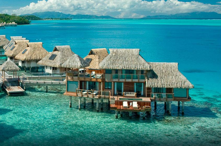 bora bora destination le hilton nui resort and spa. Black Bedroom Furniture Sets. Home Design Ideas