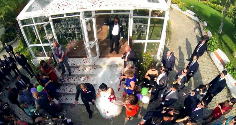 Mariage drone 3