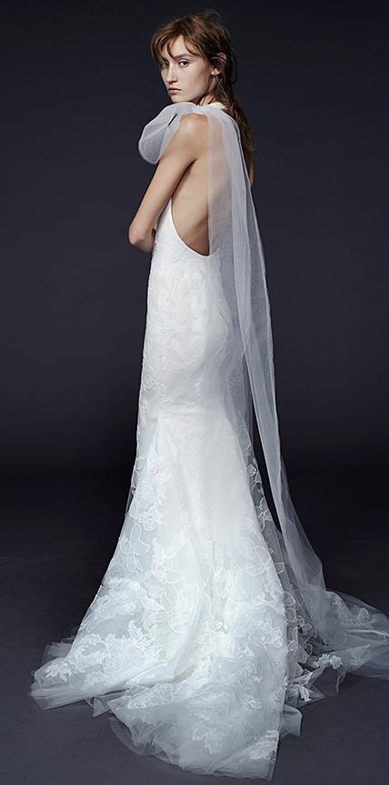 Vera wang collection hiver 2015 for Collection de robe de mariage vera wang