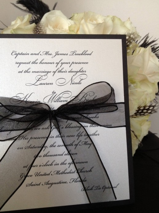 invitation-mariage-black-and-white