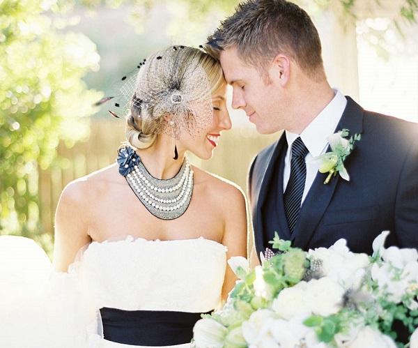 Mon mariage contemporain en noir et blanc