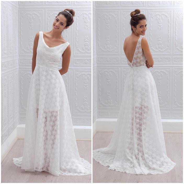 tendance mariage 2015 les robes d collet es dans le dos. Black Bedroom Furniture Sets. Home Design Ideas