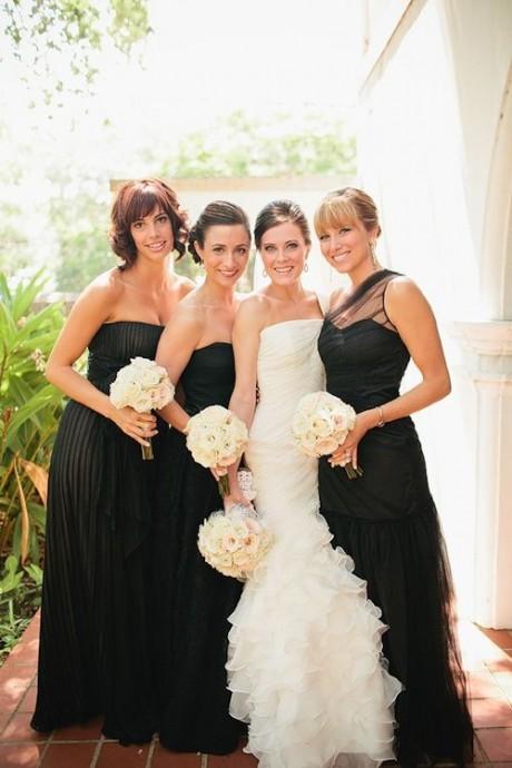mariee-demoiselle-honneur-mariage-black