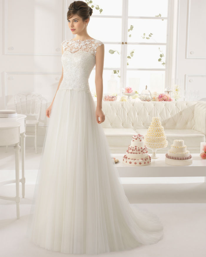 Tendance mariage 2015 je serai belle en dentelle for Lace wedding dress patterns to sew