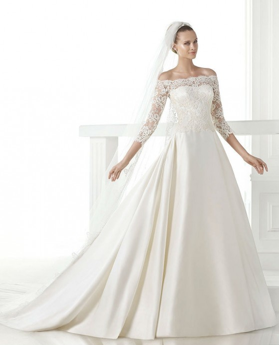 Les robes blanches 2015 dentelle