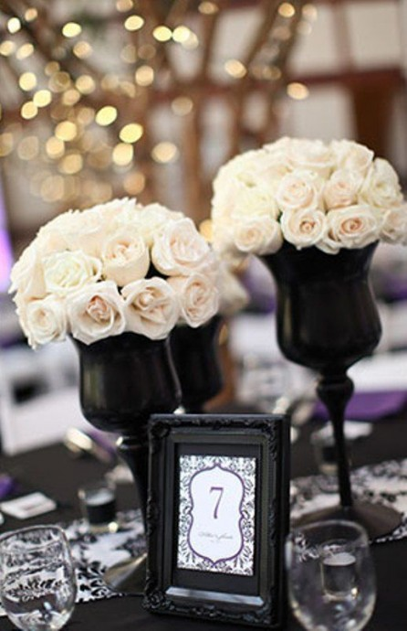 table-mariage-black