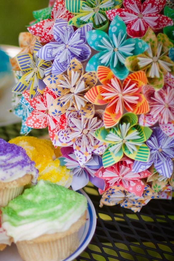 Extrêmement DIY : mon bouquet de mariée tout en origami - Mariage.com JK52