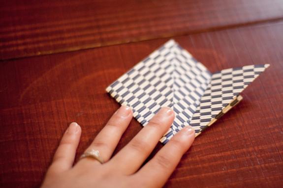 DIY Mariage bouquet papier 7