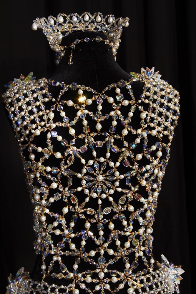 Robe perles 2