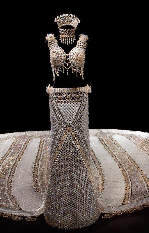 Robe perles 4